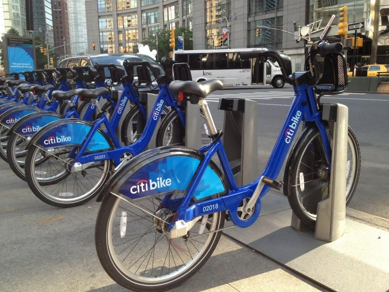 Citi+Bike+Makes+Debut+in+NYC