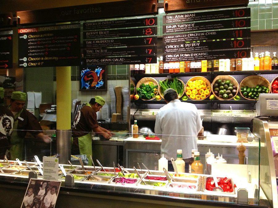 A Toss-Up For Salad Bar Options